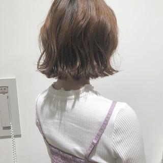ヘアアレンジ フェミニン ウェーブ ゆるふわ ヘアスタイルや髪型の写真・画像