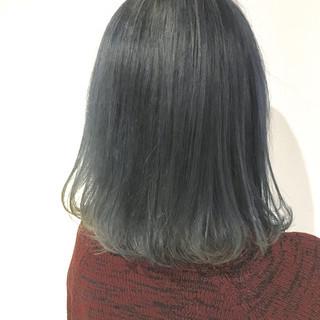 ボブ モテ髪 グレージュ 透明感カラー ヘアスタイルや髪型の写真・画像 ヘアスタイルや髪型の写真・画像