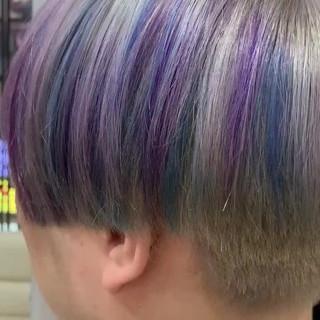 ショートヘア ナチュラル ブリーチ アンニュイほつれヘア ヘアスタイルや髪型の写真・画像