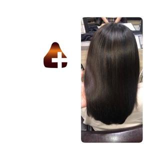 美髪 ナチュラル ロング 頭皮ケア ヘアスタイルや髪型の写真・画像