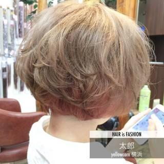 ブリーチ インナーカラー モテ髪 アッシュベージュ ヘアスタイルや髪型の写真・画像