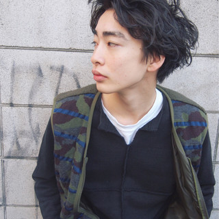 黒髪 ショート モテ髪 ボーイッシュ ヘアスタイルや髪型の写真・画像