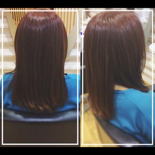 オフィス 髪質改善カラー 社会人の味方 髪質改善トリートメント ヘアスタイルや髪型の写真・画像 ヘアスタイルや髪型の写真・画像