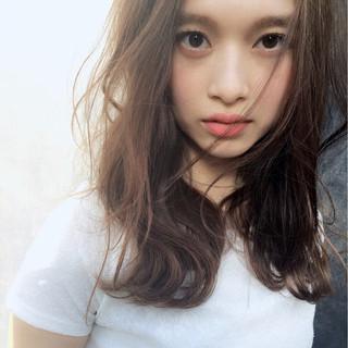 こなれ感 大人女子 小顔 ハイライト ヘアスタイルや髪型の写真・画像