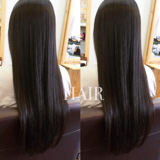 ストレート 黒髪 ロング 暗髪 ヘアスタイルや髪型の写真・画像