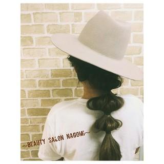 ルーズ 編み込み ヘアアレンジ 簡単ヘアアレンジ ヘアスタイルや髪型の写真・画像