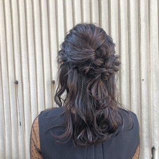 ゆるふわ ロング ウェーブ フェミニン ヘアスタイルや髪型の写真・画像