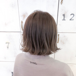 ボブ デート ヘアアレンジ ナチュラル ヘアスタイルや髪型の写真・画像