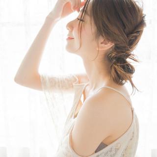 ヘアアレンジ ショート ウェットヘア 大人かわいい ヘアスタイルや髪型の写真・画像