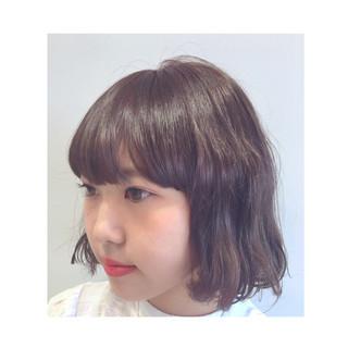 愛され ピュア ボブ モテ髪 ヘアスタイルや髪型の写真・画像