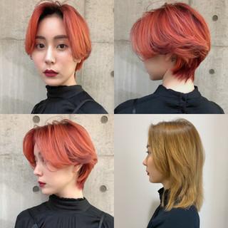 ショートボブ ハンサムショート ハンサム ショートヘア ヘアスタイルや髪型の写真・画像