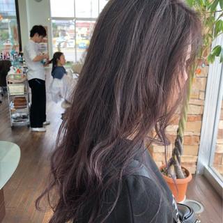 秋 デート 透明感 ナチュラル ヘアスタイルや髪型の写真・画像