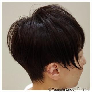まとまるボブ モード ボブ 大人ヘアスタイル ヘアスタイルや髪型の写真・画像 | Yasushi Endo 『Tiam』 / Tiam Hair 弘明寺