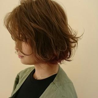 渋谷系 色気 ストリート ボブ ヘアスタイルや髪型の写真・画像