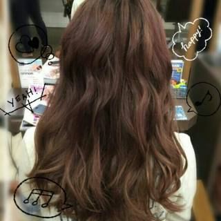 大人かわいい ロング ガーリー ゆるふわ ヘアスタイルや髪型の写真・画像 ヘアスタイルや髪型の写真・画像