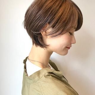 ショート ゆるふわ 大人かわいい ナチュラル ヘアスタイルや髪型の写真・画像 ヘアスタイルや髪型の写真・画像