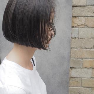 ボブ ナチュラル リラックス デート ヘアスタイルや髪型の写真・画像
