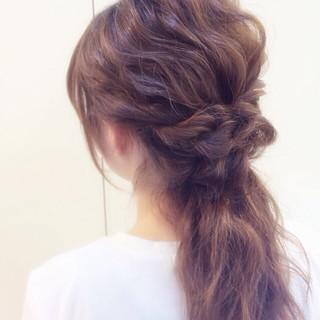 ショート ラフ 波ウェーブ ヘアアレンジ ヘアスタイルや髪型の写真・画像 ヘアスタイルや髪型の写真・画像