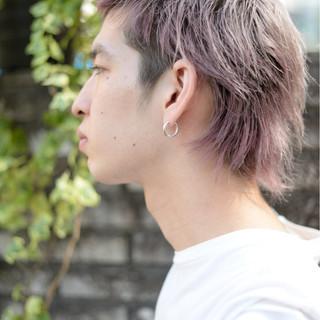 メンズ ウルフカット 外国人風 坊主 ヘアスタイルや髪型の写真・画像 ヘアスタイルや髪型の写真・画像
