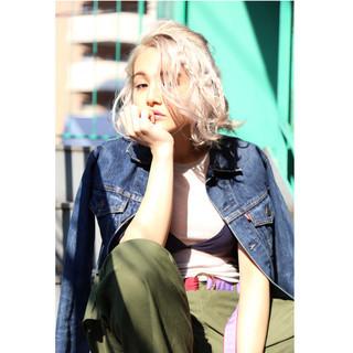 大人女子 ニュアンス ストリート 色気 ヘアスタイルや髪型の写真・画像