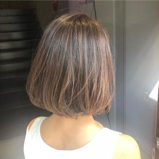 ベージュ シルバーグレージュ シアーベージュ ミルクティーベージュ ヘアスタイルや髪型の写真・画像