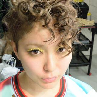 外国人風 パーマ ショート ショートボブ ヘアスタイルや髪型の写真・画像