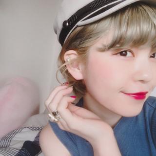 さりげない感が惹かれる♡帽子ヘアアレンジでplus+αおしゃ髪に♪