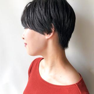 ナチュラル ナチュラル可愛い ショート 大人カジュアル ヘアスタイルや髪型の写真・画像