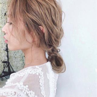 アンニュイ ヘアアレンジ 大人女子 ゆるふわ ヘアスタイルや髪型の写真・画像