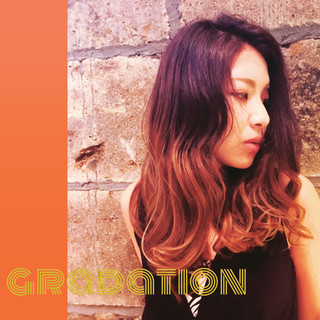 グラデーションカラー 外国人風 かっこいい 上品 ヘアスタイルや髪型の写真・画像