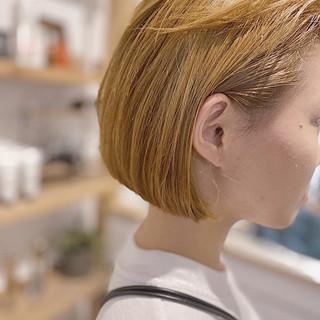 外国人風カラー 透明感カラー グレージュ ストリート ヘアスタイルや髪型の写真・画像