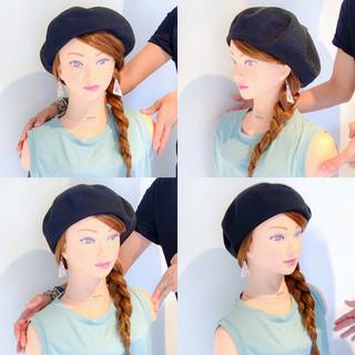 女子会 ナチュラル 簡単ヘアアレンジ 涼しげ ヘアスタイルや髪型の写真・画像