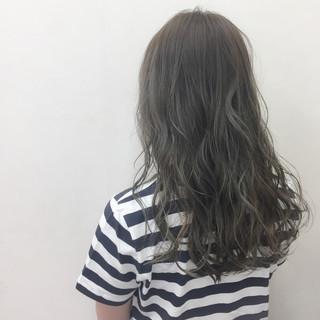 夏 ロング 上品 大人かわいい ヘアスタイルや髪型の写真・画像