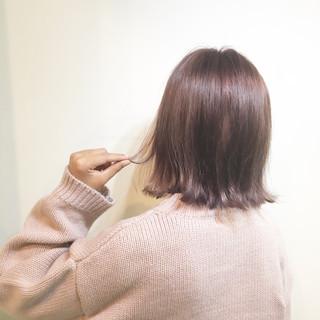 ピンクアッシュで色っぽくて女性らしいヘアスタイルまとめ♡