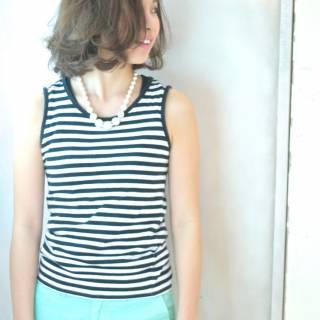 かっこいい ナチュラル ボブ 大人女子 ヘアスタイルや髪型の写真・画像 ヘアスタイルや髪型の写真・画像