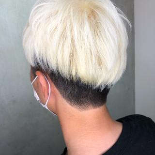 メンズ メンズカット ストリート ショートボブ ヘアスタイルや髪型の写真・画像