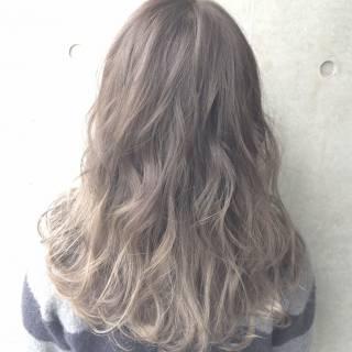 春 ストリート ブラウンベージュ パンク ヘアスタイルや髪型の写真・画像