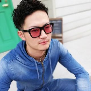 ストリート メンズパーマ メンズ ショート ヘアスタイルや髪型の写真・画像 ヘアスタイルや髪型の写真・画像
