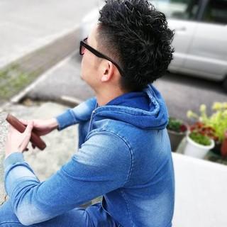 ストリート メンズパーマ メンズ ショート ヘアスタイルや髪型の写真・画像 | 矢野真人 / L e・L i e n(ル・リアン)