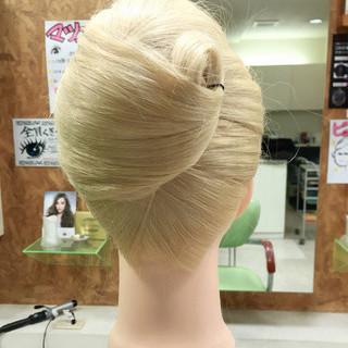 ヘアアレンジ 着物 ロング 和服 ヘアスタイルや髪型の写真・画像