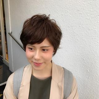 色気 パーマ ナチュラル 外国人風 ヘアスタイルや髪型の写真・画像