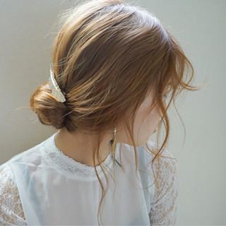 ヘアアレンジ セミロング モード ロング ヘアスタイルや髪型の写真・画像