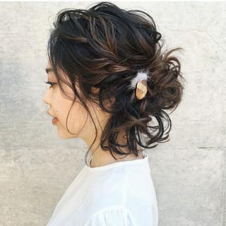 色気 ナチュラル ボブ 抜け感 ヘアスタイルや髪型の写真・画像