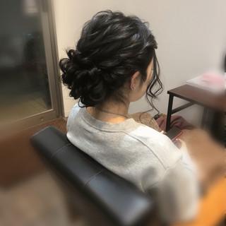 アップ ヘアセット ヘアアレンジ フェミニン ヘアスタイルや髪型の写真・画像 ヘアスタイルや髪型の写真・画像