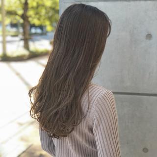 大人かわいい デート 外国人風 ハイライト ヘアスタイルや髪型の写真・画像