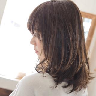 ゆるふわ 愛され リラックス ナチュラル ヘアスタイルや髪型の写真・画像