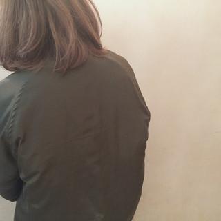 ローライト ハイライト ボブ グラデーションカラー ヘアスタイルや髪型の写真・画像
