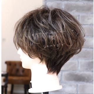 ハンサムショート ショート ストリート アンニュイほつれヘア ヘアスタイルや髪型の写真・画像