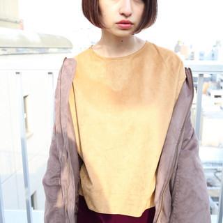ニュアンス 色気 ストリート 小顔 ヘアスタイルや髪型の写真・画像
