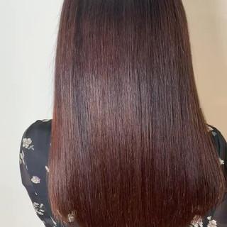 最新トリートメント 美髪矯正 髪質改善トリートメント ロング ヘアスタイルや髪型の写真・画像